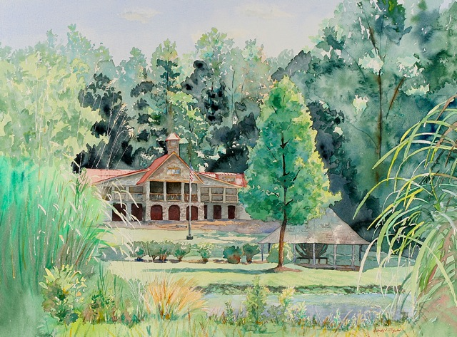 Picture of Wendy Myers Print - Dining Hall
