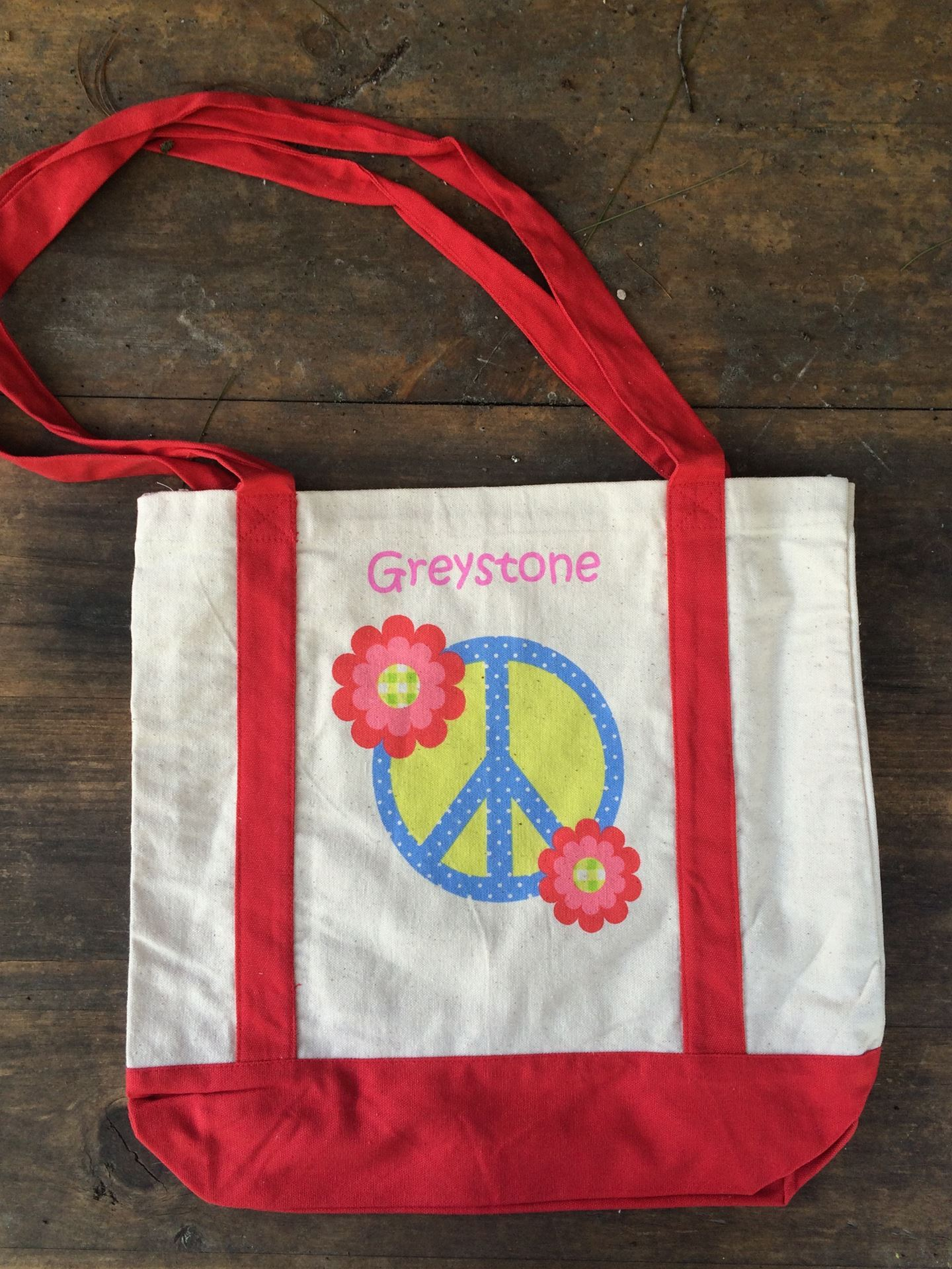 Picture of Red Peace Tote