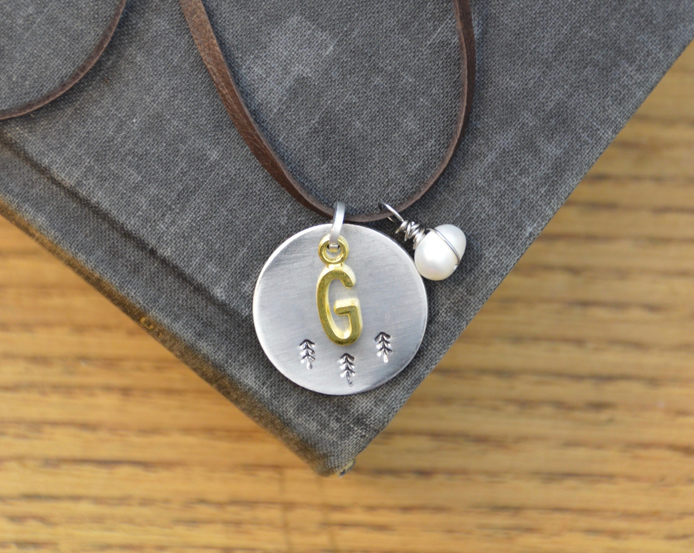 Picture of Greystone Trees Coin Necklace