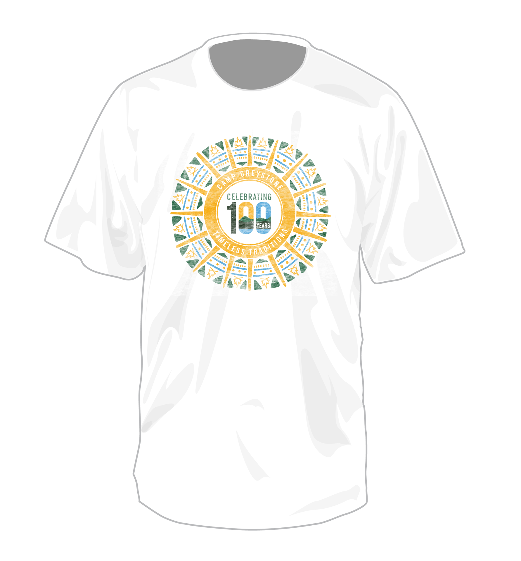 Picture of Celebrating 100 Years Timeless Tradition short sleeve T-Shirt - 2019