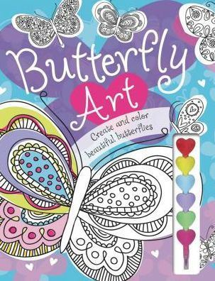 Picture of Butterfly Art Doodle & Coloring Book