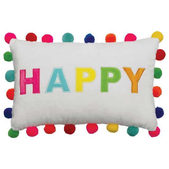 Picture of Happy Pom-Pom Pillow