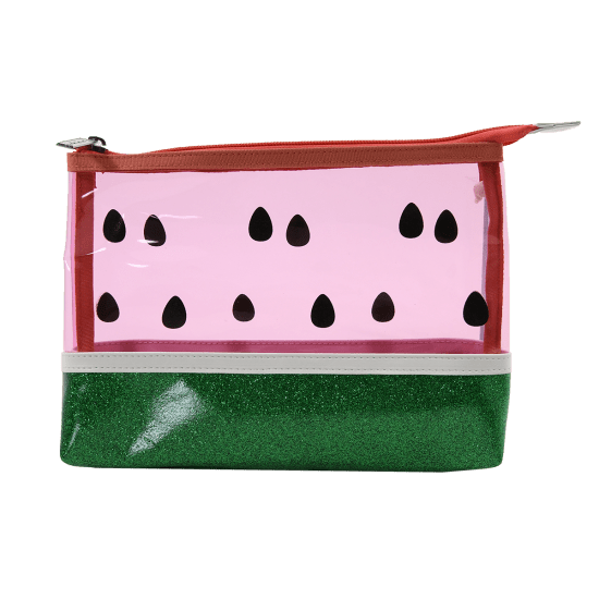 "Picture of Watermelon Clear Cosmetic Bag, 9.5"" x 6.5"""