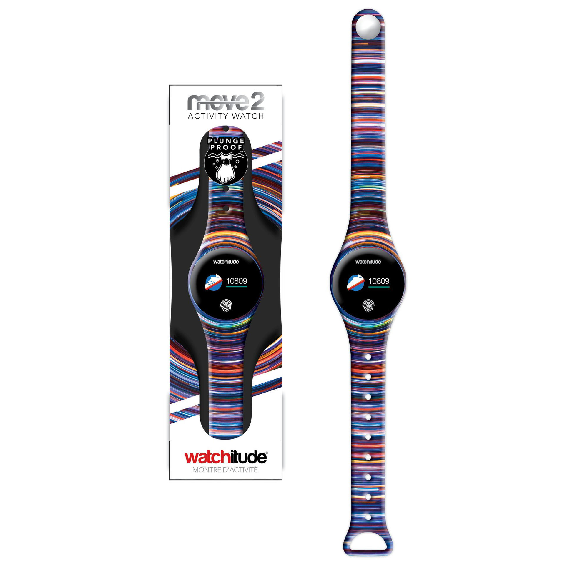 Picture of MOVE2 - Waterproof Activity Watch