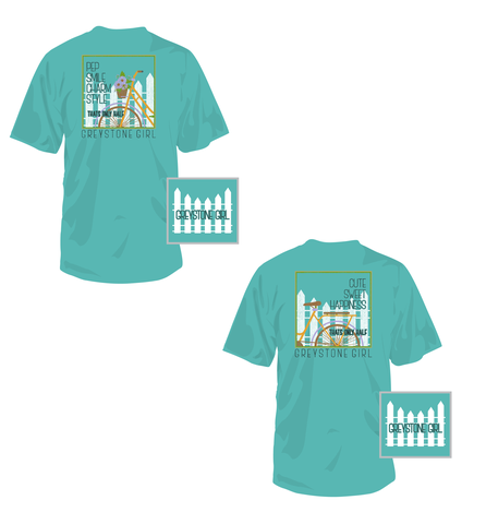 Picture of 'That's only Half' Bicycle Duo Shirts