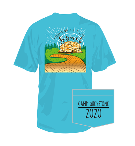 Picture of Scones Shirt, Short Sleeve, Lagoon Blue