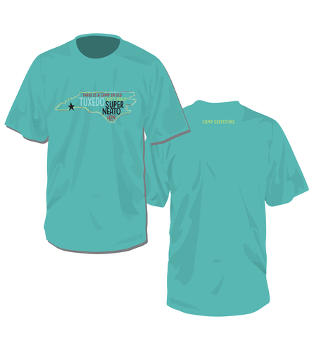 Picture of Super Neato Shirt, Short Sleeve, Chalky Mint