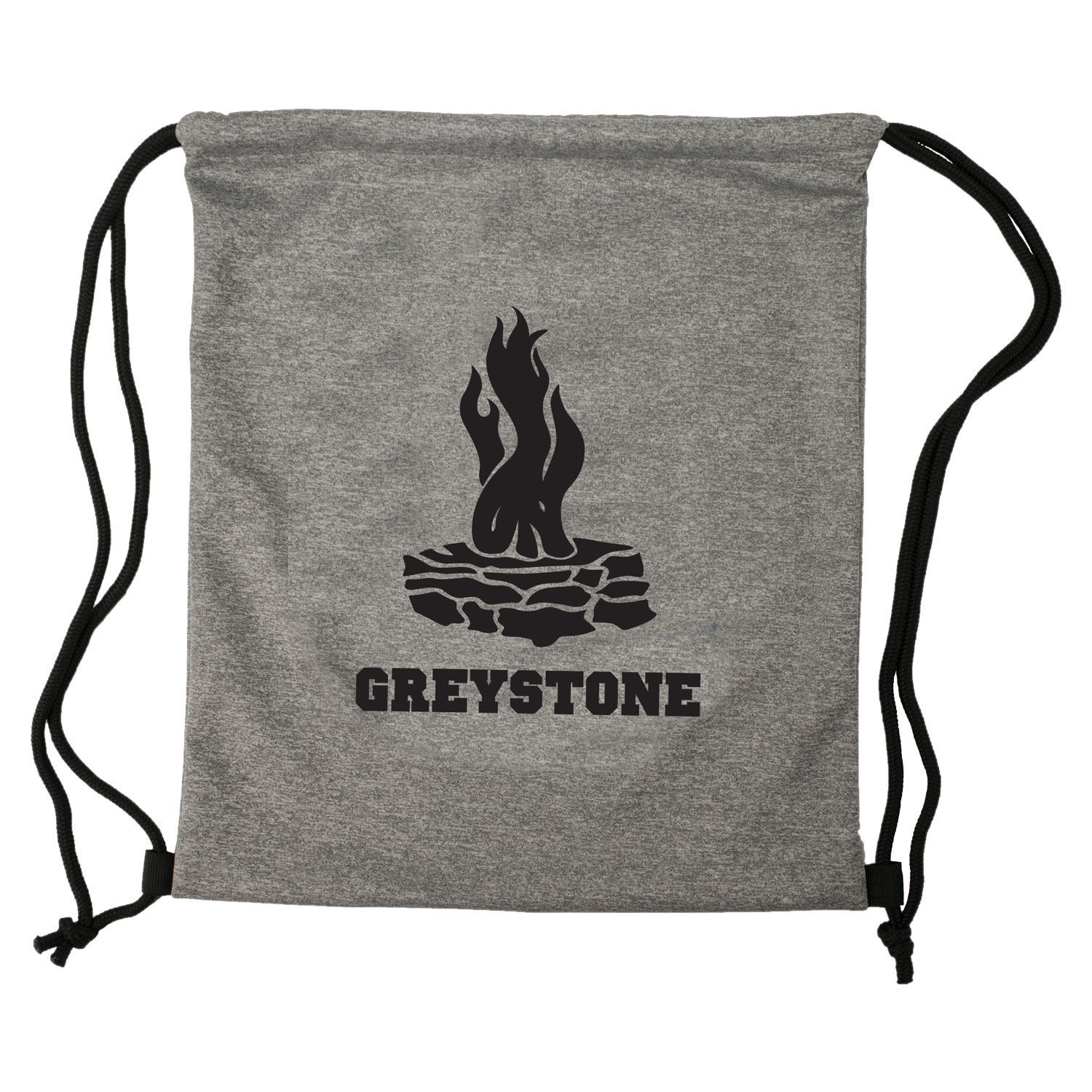 Picture of Performance Knit Gray Backsack