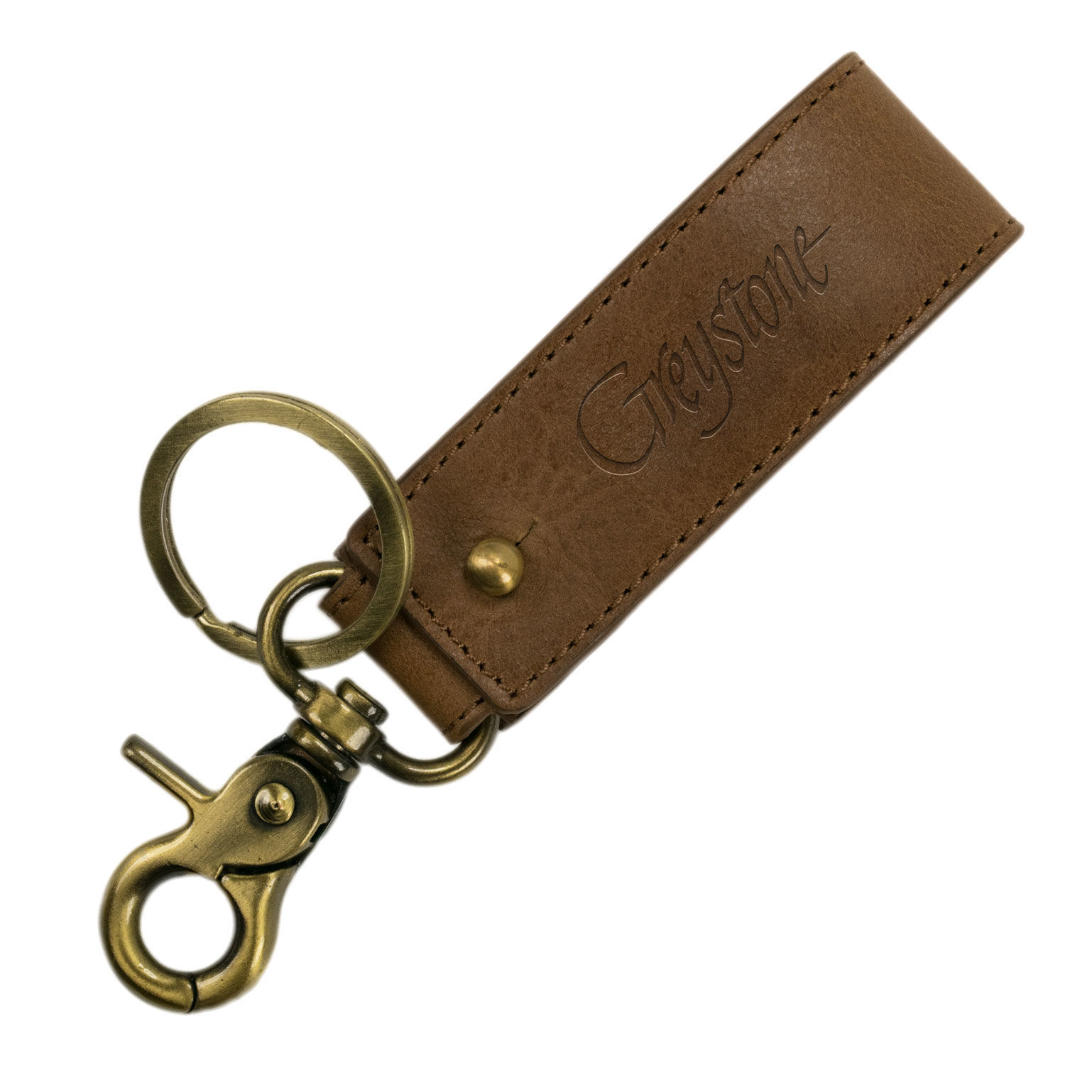 Picture of Fold-over Leather Key Fob