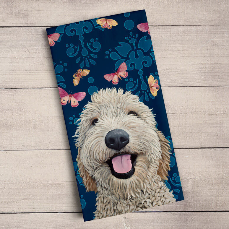 Picture of Happy Dog Tea Towels