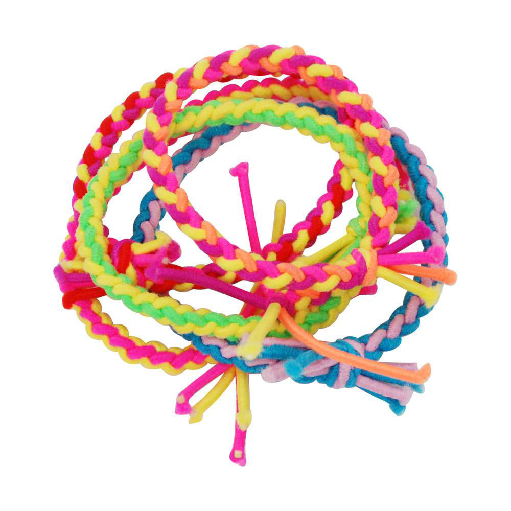 Picture of 5 Pack of Neon Hairties