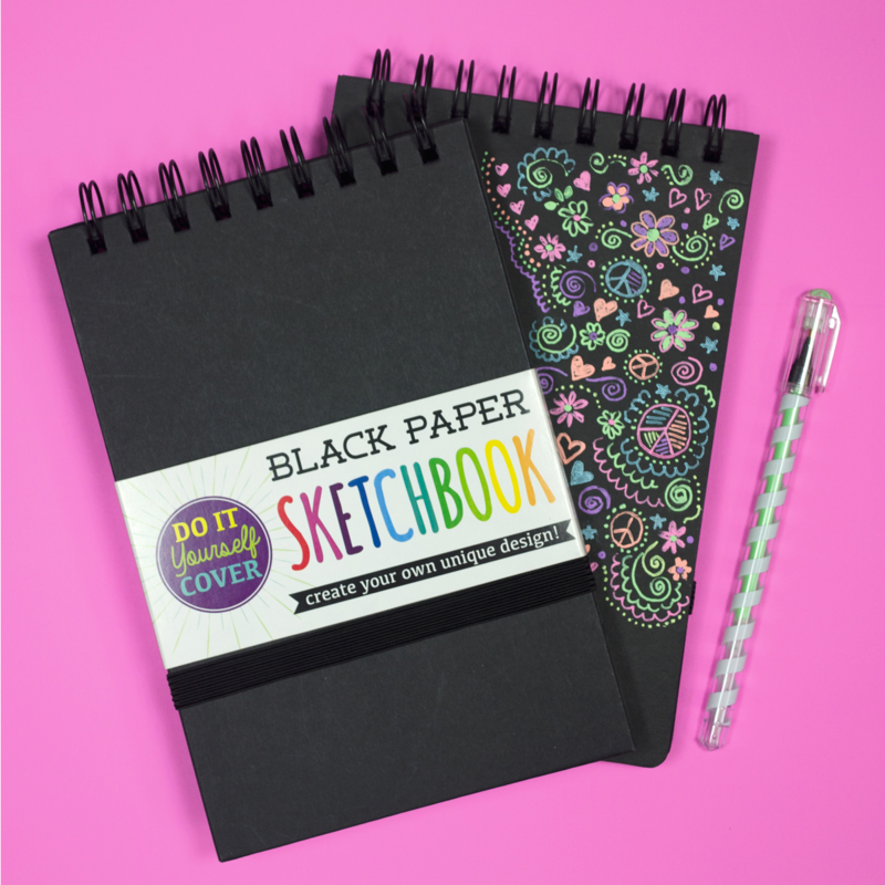 Picture of Black DIY Sketchbook - Small