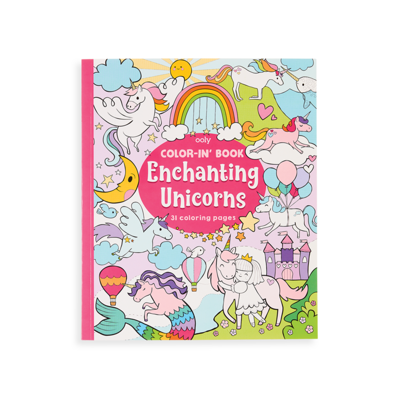 Picture of Enchanting Unicorns Coloring Book