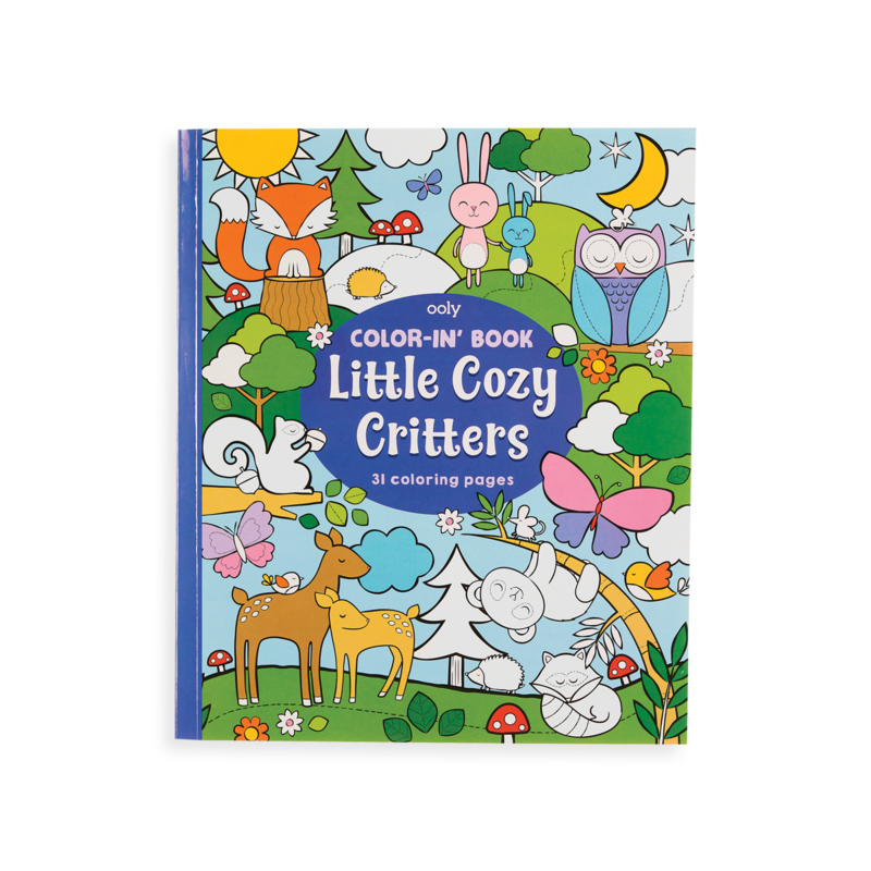 Picture of Little Cozy Critters Coloring Book