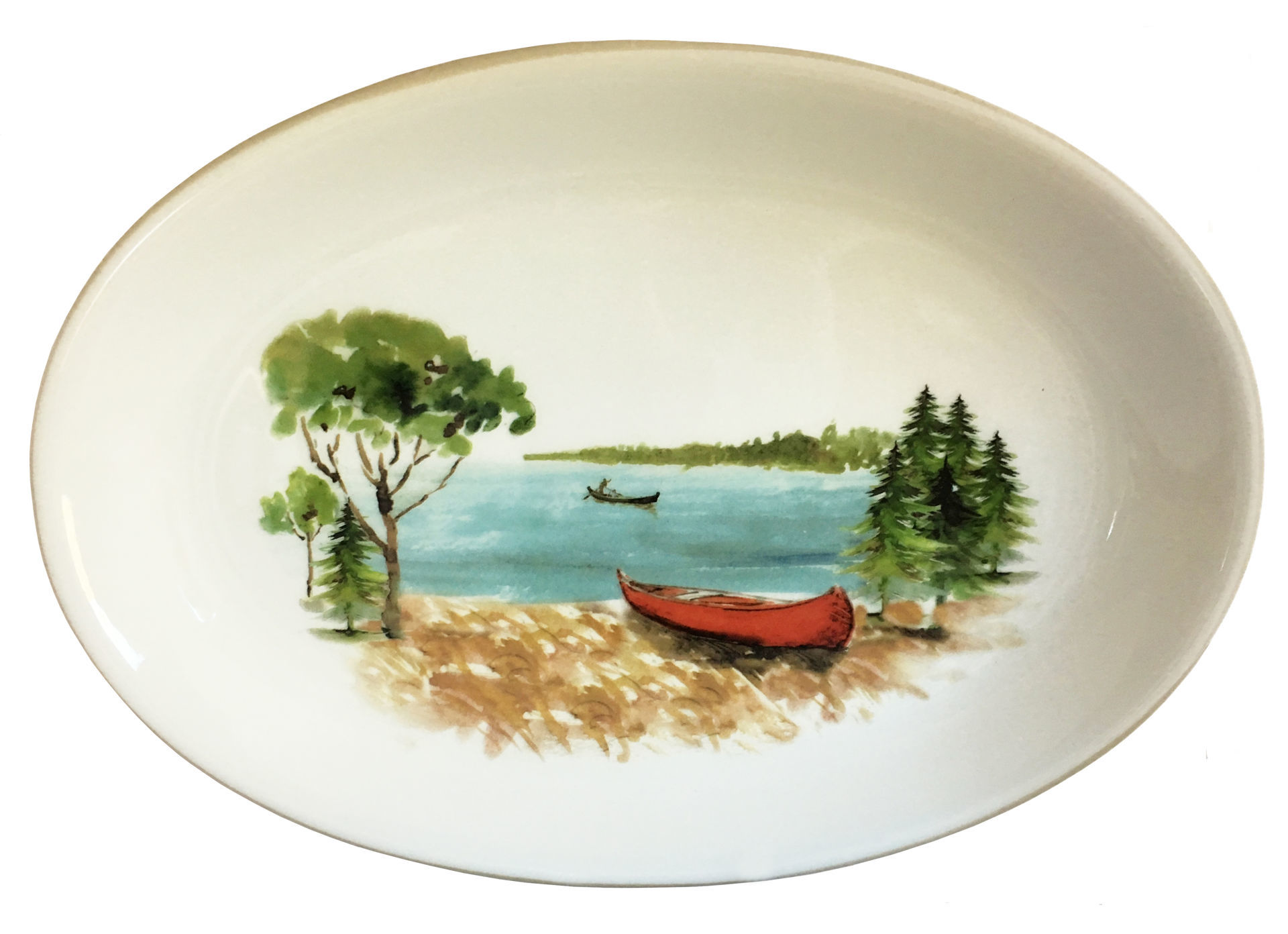 Picture of Canoe Oval Serving Platter
