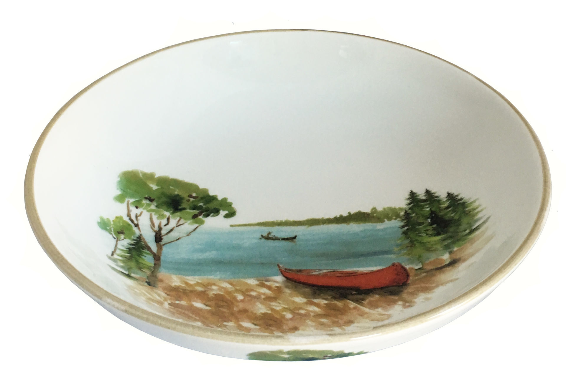 Picture of Canoe Large Serving Bowl