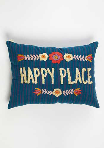 Picture of Happy Place Pillow