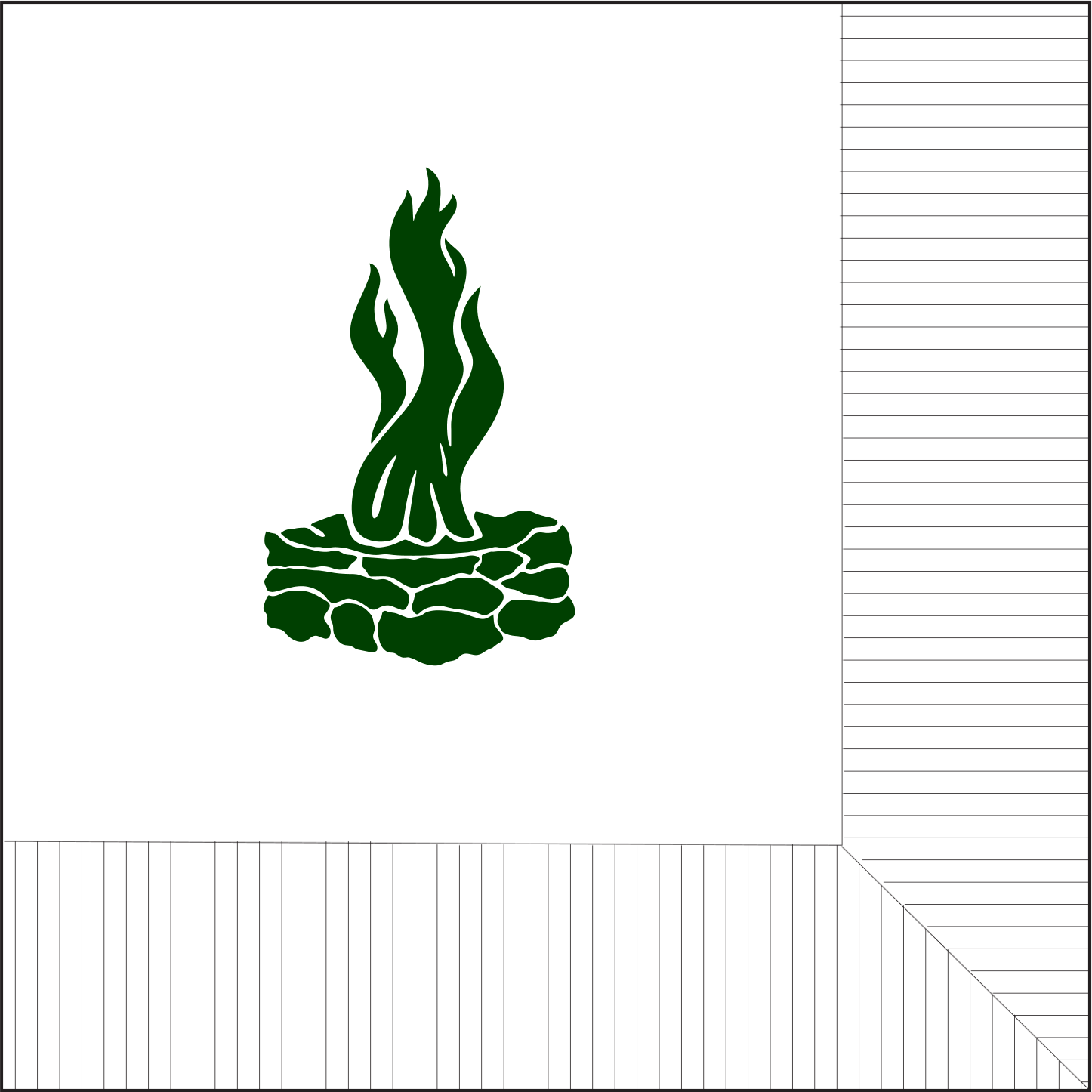 Picture of Council Fire Beverage Napkins