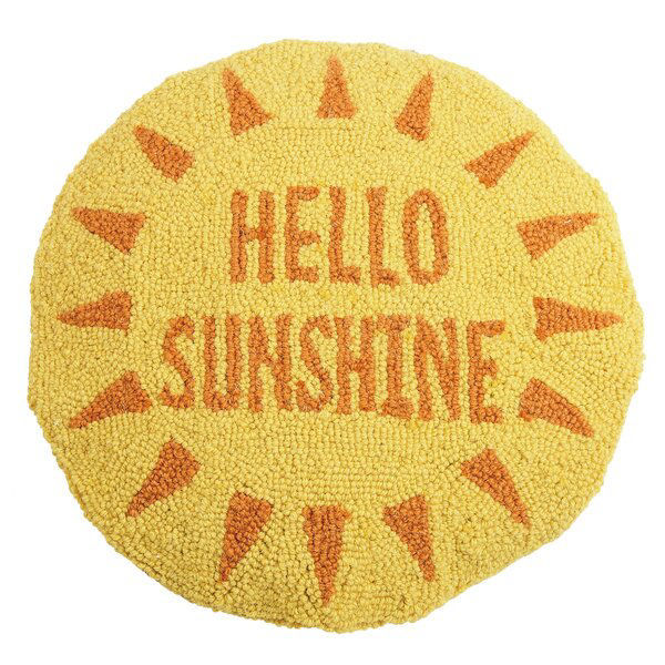Picture of Hello Sunshine Round Pillow