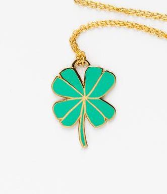 Picture of Lucky Clover Cloisonne' Pendant