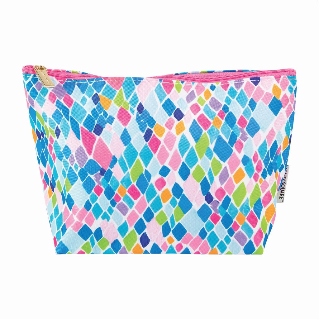 "Picture of Carryall Zippered Bag, Medium, 10"" x 6.25"" - 2 Colors"