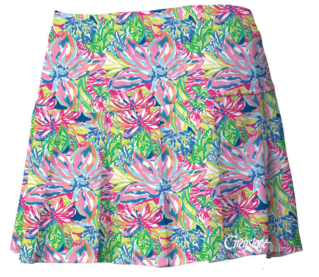 Picture of Youth Tennis Skort - Floral