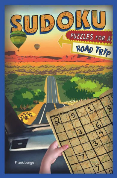 Picture of Sudoku Puzzles for a Road Trip