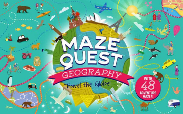 Picture of Maze Quest Geography