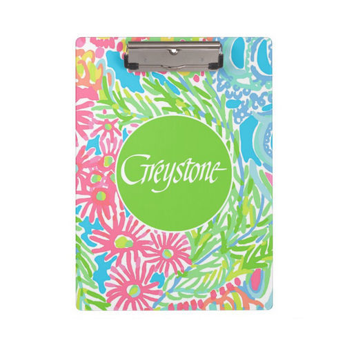 Picture of Georgia Floral Clipboard