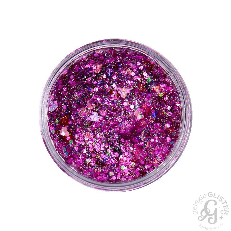 Picture of Candied Hearts Pink Face/Hair Glitter Gel