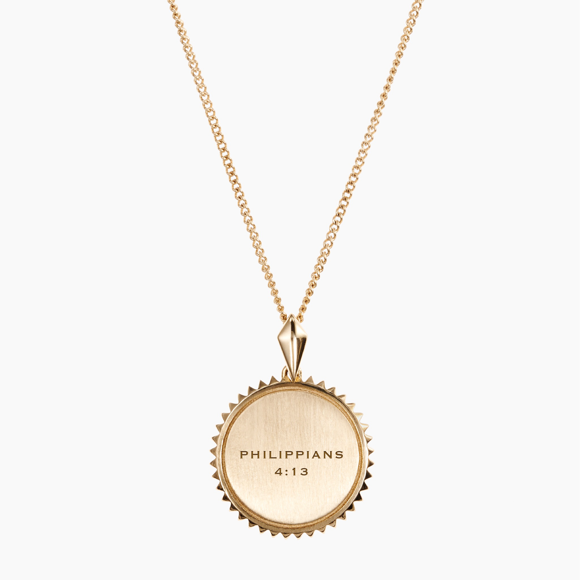 Picture of Kyle Cavan Council Fire Sunburst Necklace - Cavan Gold™