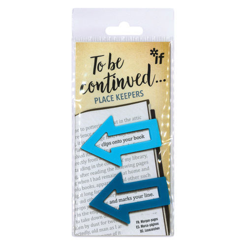 Picture of To Be Continued... Bookmarks/Place Keepers - Blue