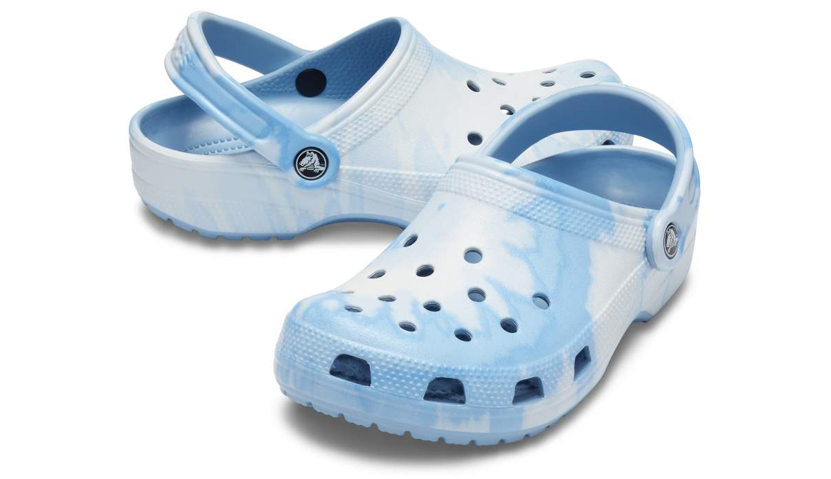 Picture of Chambray Tie Dye Classic Crocs™ Clogs - Adult