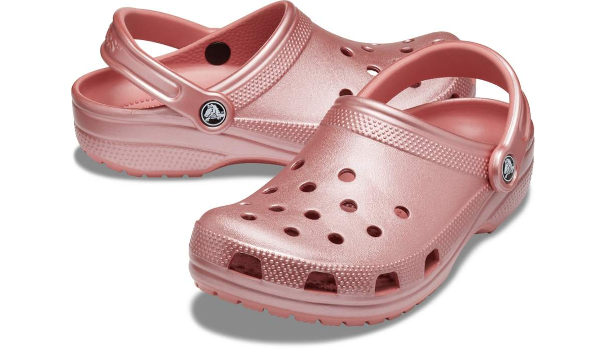 Picture of Metallic Blossom Classic Crocs™ Clog - Adult