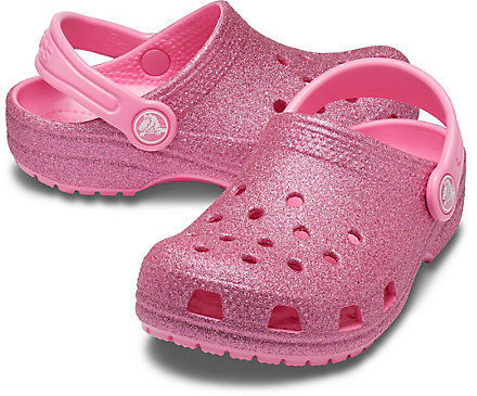 Picture of Pink Glitter Crocs™ Clog - Kids