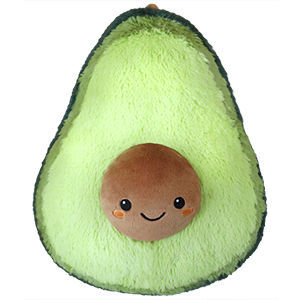 Picture of Avocado Plush Pillow, 15""
