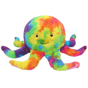 Picture of Tie-Dye Octopus Plush Pillow, 17""