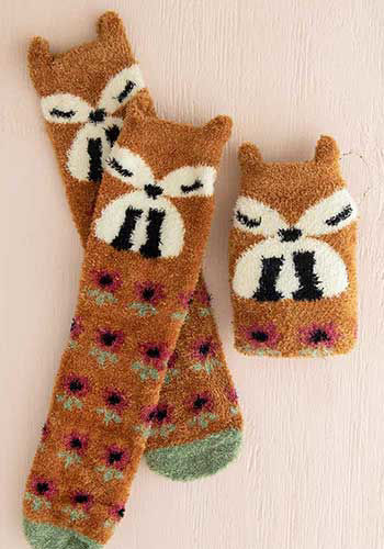 Picture of Fox Cozy Sock