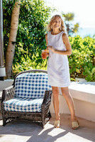Picture of White Eyelet Dress