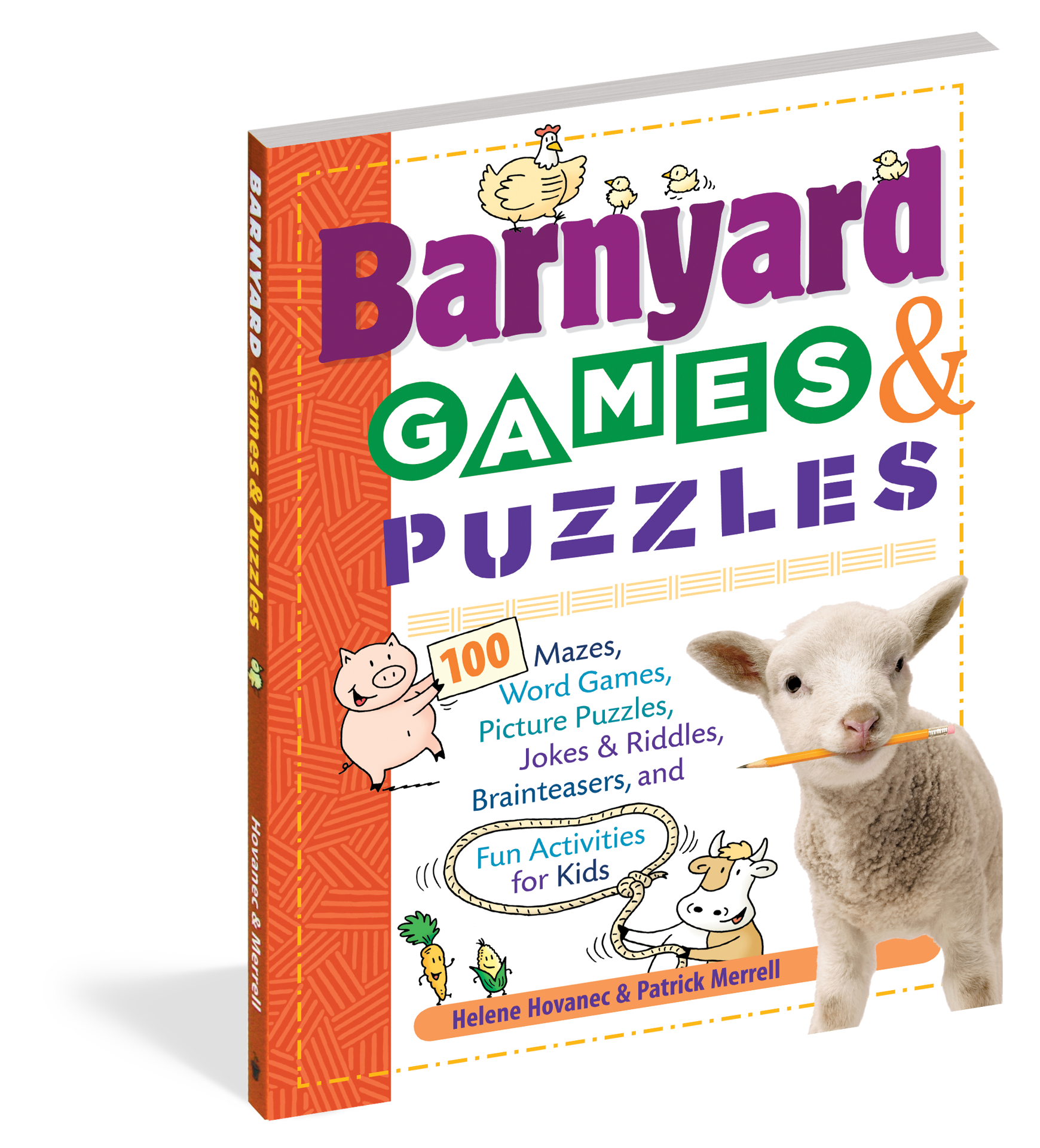 Picture of Barnyard Games & Puzzles