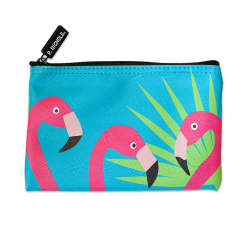 Picture of Flamingo Zip Pouch