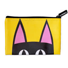 Picture of Peeking Kitty Zip Pouch