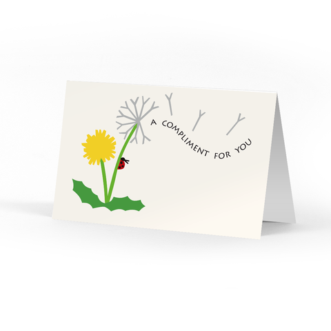 Picture of Dandelion Compliment Cards