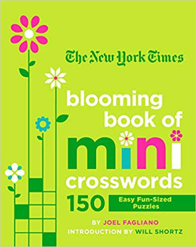 Picture of New York Times Blooming Book of Mini Crosswords