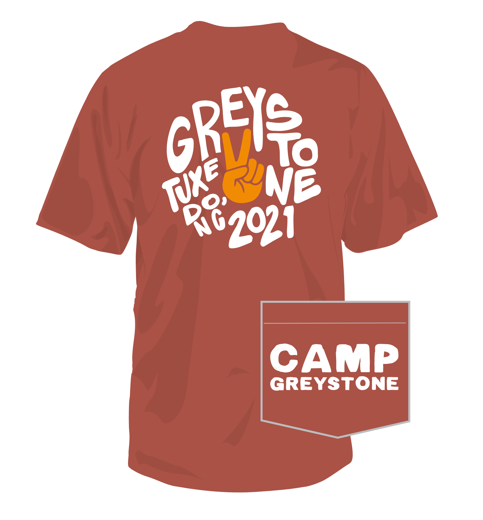 Picture of Greystone Peace Shirt, Adult