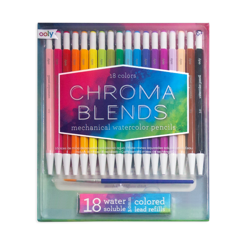 Picture of Chroma Blends Mechanical Watercolor Pencils Set