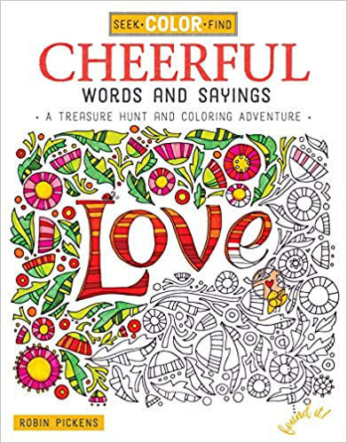 Picture of Seek & Find Cheerful Words Coloring Book