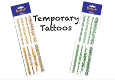 Picture of Temporary Tattoo Sheet