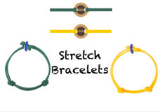 Picture of Colors For Good Odd/Even Stretch Bracelets