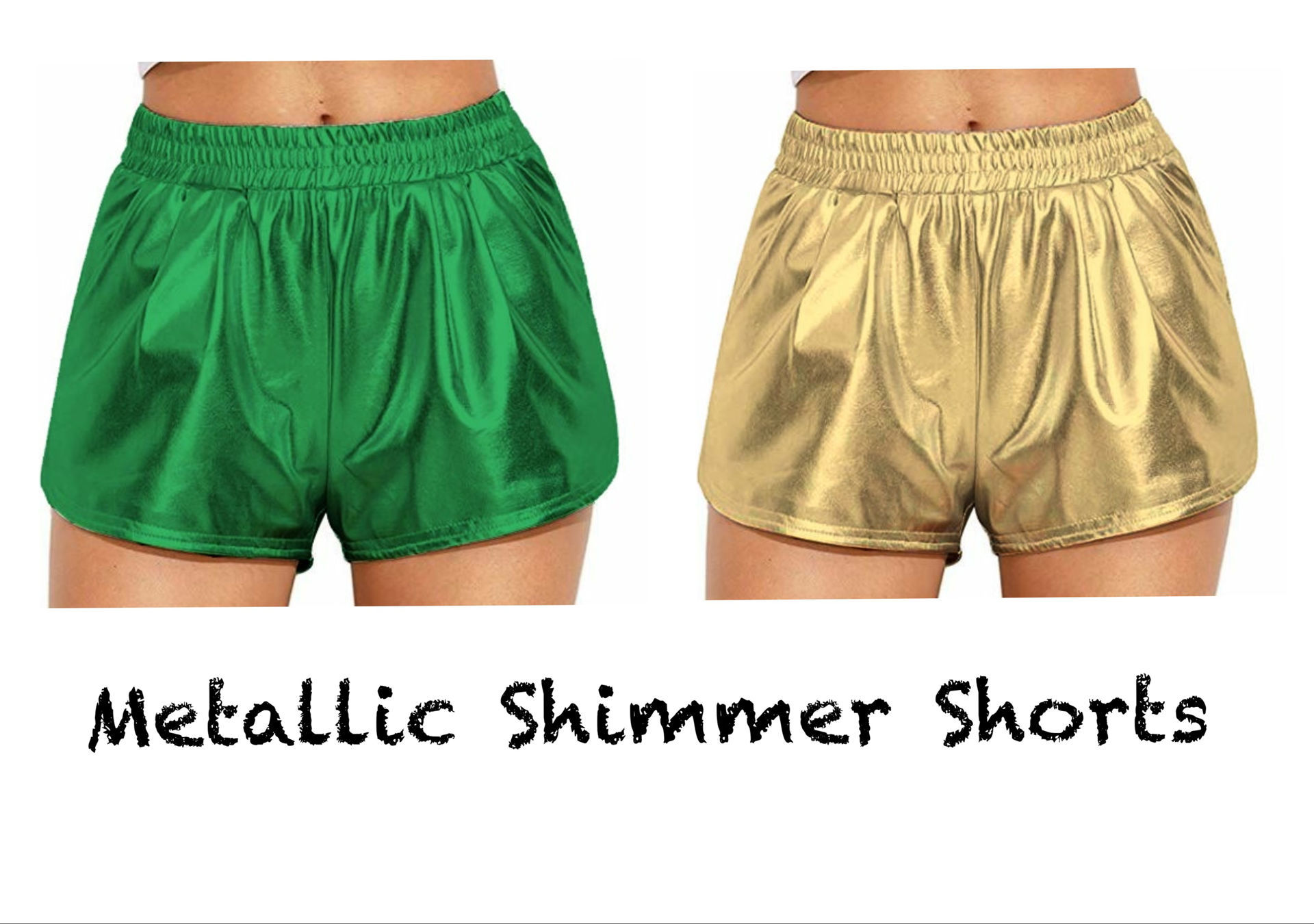 Picture of Metallic Shorts - Youth and Adult
